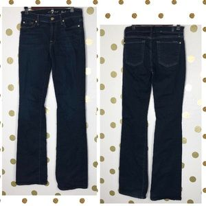 7 For All Mankind Jeans - 7 For All Mankind The Squiggle Bootcut Jean